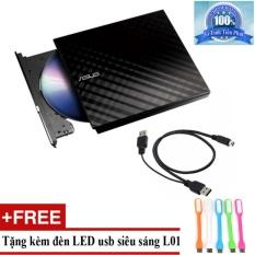 Ổ đĩa quang ASUS SDRW-08D2S-U LITE gắn ngoài + Tặng đèn LED usb mã L01