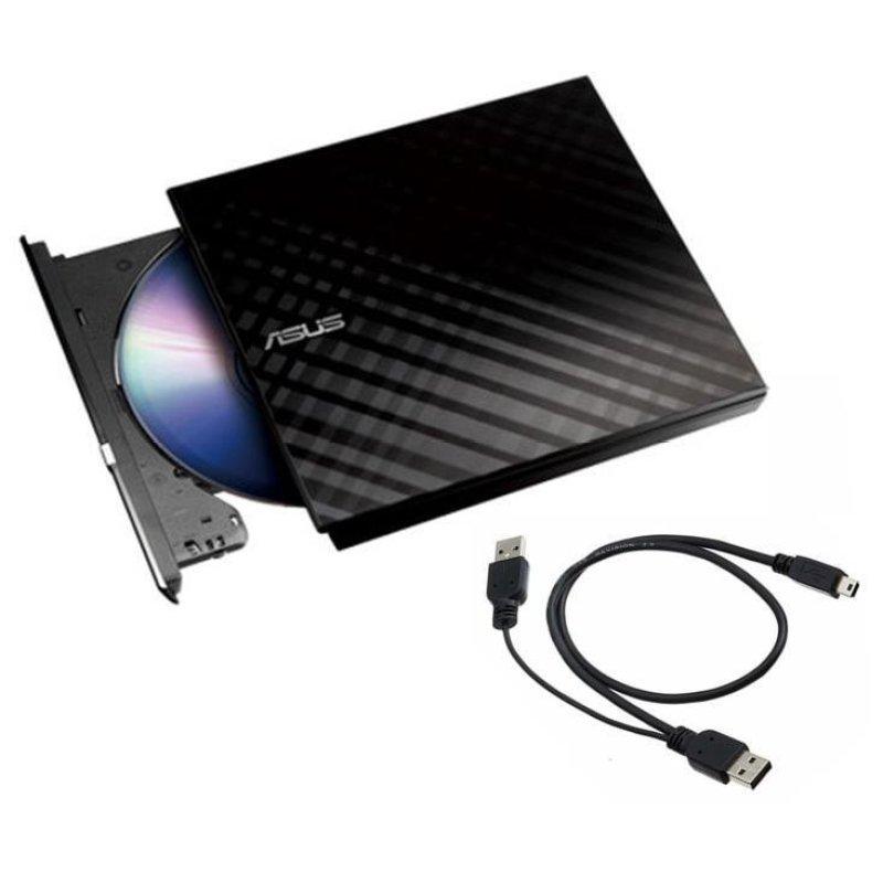 Bảng giá Ỗ đĩa quang rời Asus DVD_RW External Slim (Đen) Phong Vũ