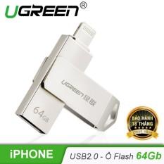 Ổ USB Flash 2.0 dành cho iPhone và iPad 64GG UGREEN US200 30617 – Hãng phân phối chính thức