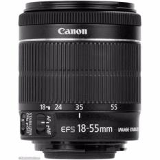 Ống kính Canon EF-S 18-55mm f/3.5-5.6 IS STM – Hàng tách máy màu đen – Hàng nhập khẩu