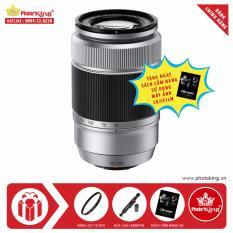 Ống kính FujiFilm Fujinon XC 50-230mm F/4.5-6.7 OIS II (Bạc) + Tặng kèm Kính lọc Kenko + Bút lau ống kính lenspen + Sách Cẩm nang sử dụng máy ảnh FujiFilm – Hãng phân phối chính thức