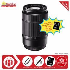 Ống kính FujiFilm Fujinon XC 50-230mm F/4.5-6.7 OIS II (Đen) + Tặng kèm Kính lọc Kenko + Bút lau ống kính lenspen + Sách Cẩm nang sử dụng máy ảnh FujiFilm – Hãng phân phối chính thức