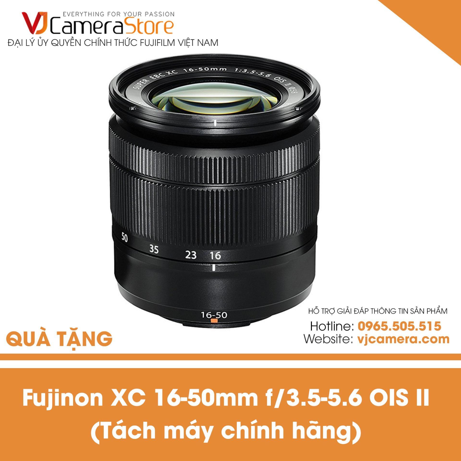 Ống kính FUJIFILM Kit XC 16-50mm F3.5-5.6 OIS II màu đen (tách máy từ chính hãng) – Hãng phân phối chính thức