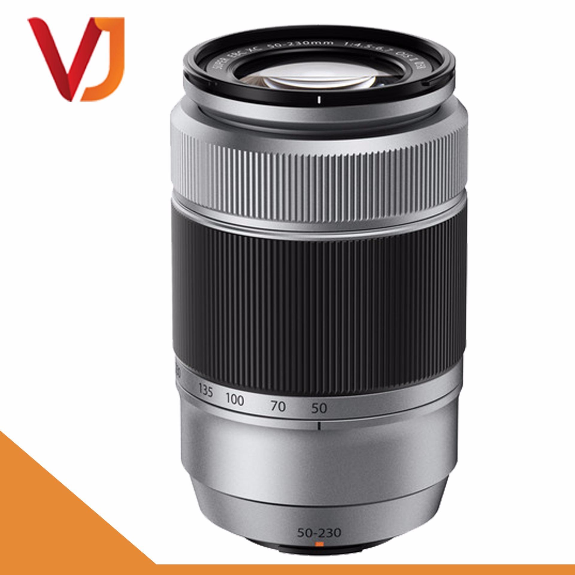 Ống kính Fujifilm XC 50-230mm F/4.5-6.7 OIS II (Bạc) – Tặng kèm 1 Filter UV 58mm + 1 Bóng thổi bụi + 1 Khăn lau lens – Hãng phân phối chính thức