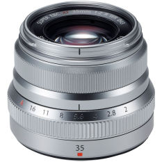 Ống kính Fujifilm XF 35mm f/2.0 WR Bạc – Hàng Phân phối chính thức