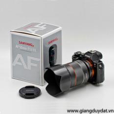 Ống kính Samyang AF 50mm f/1.4 FE for Sony E mount (Đen)