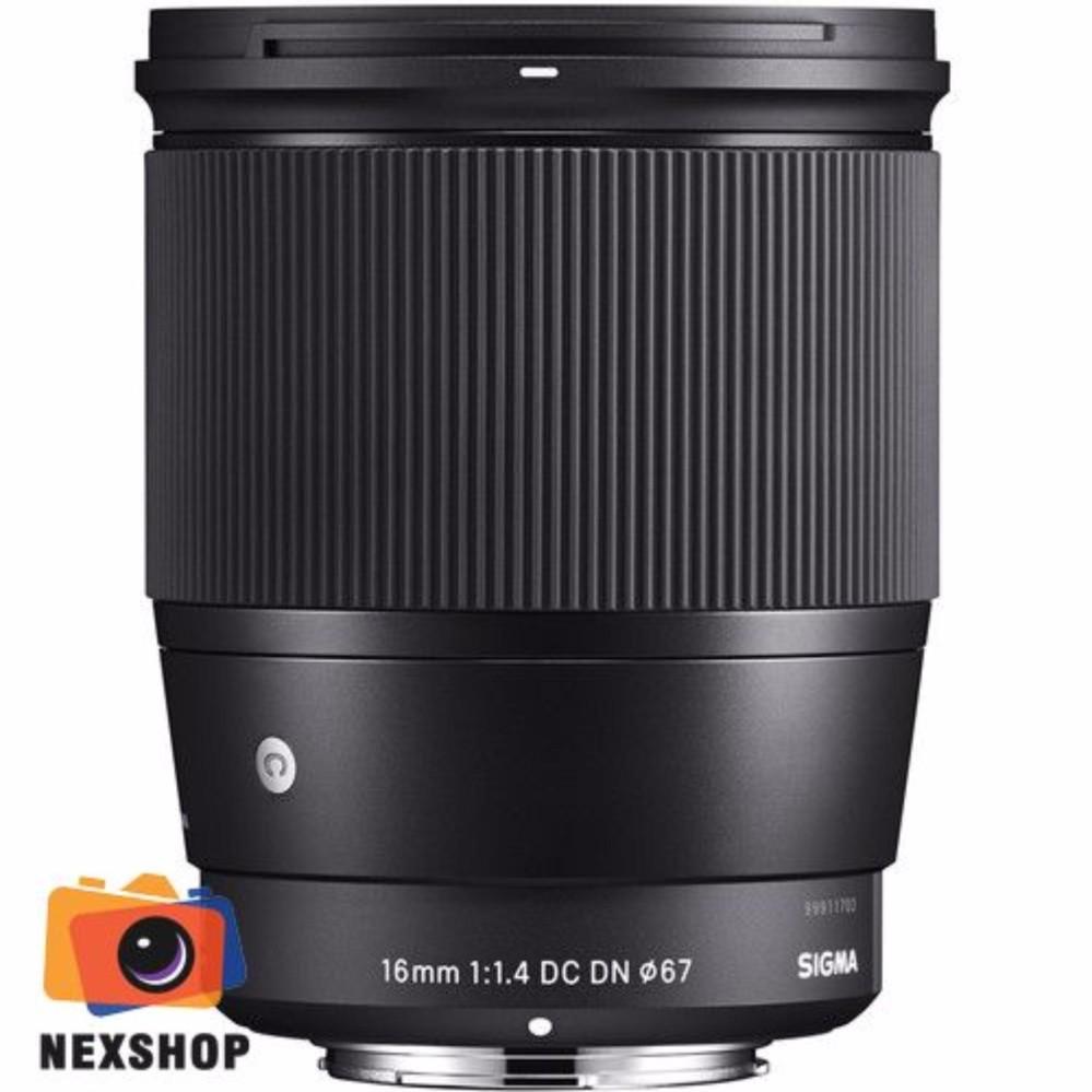 Ống kính Sigma 16mm f/1.4 DC DN cho máy ảnh Crop Sony ngàm E