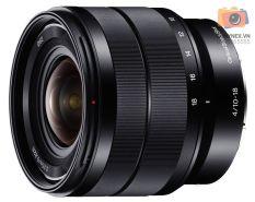 Ống kính Sony E 10-18mm F4 – SEL1018 – Hàng phân phối chính hãng