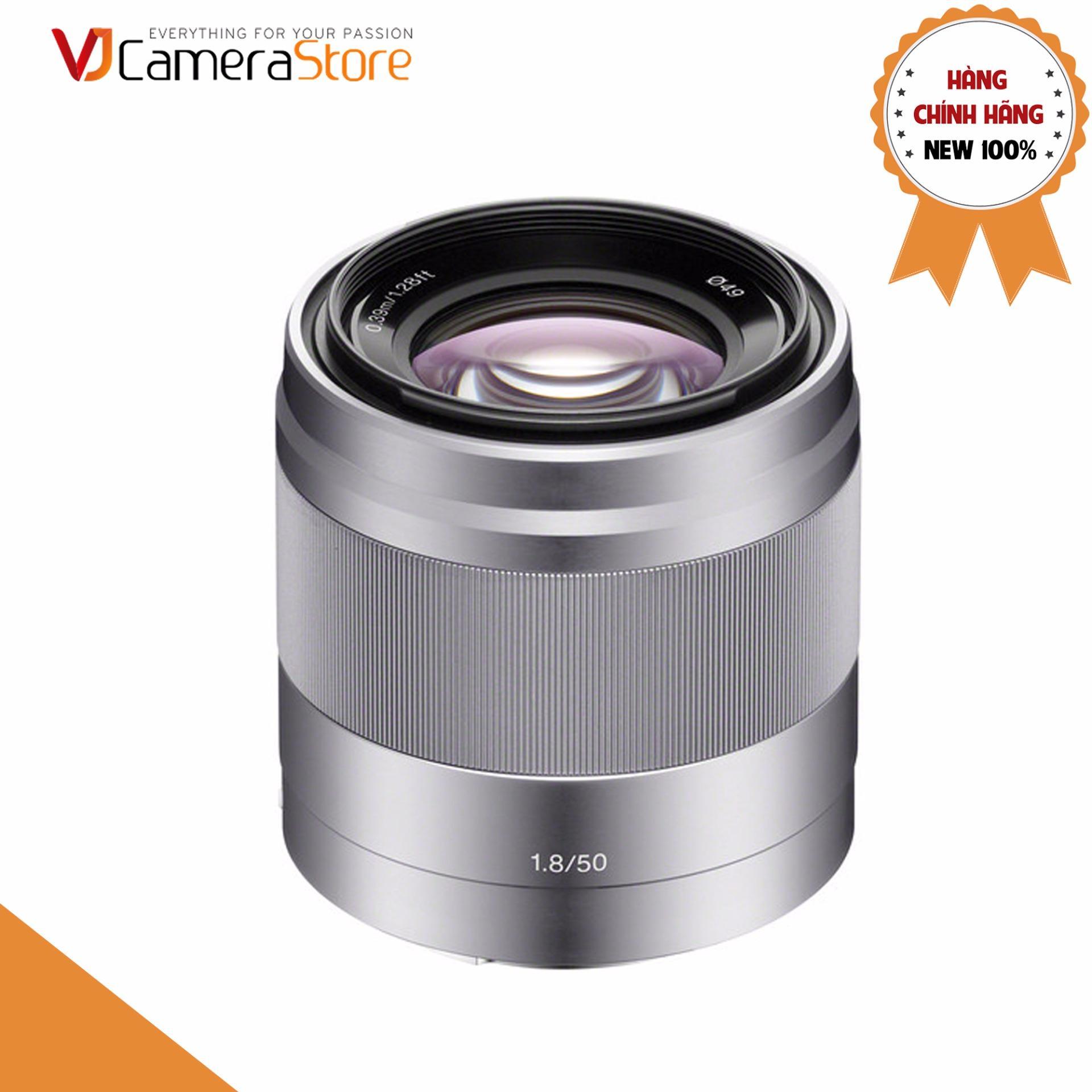 Ống kính Sony E 50mm f/1.8 OSS (SEL50F18) – Hãng phân phối chính thức