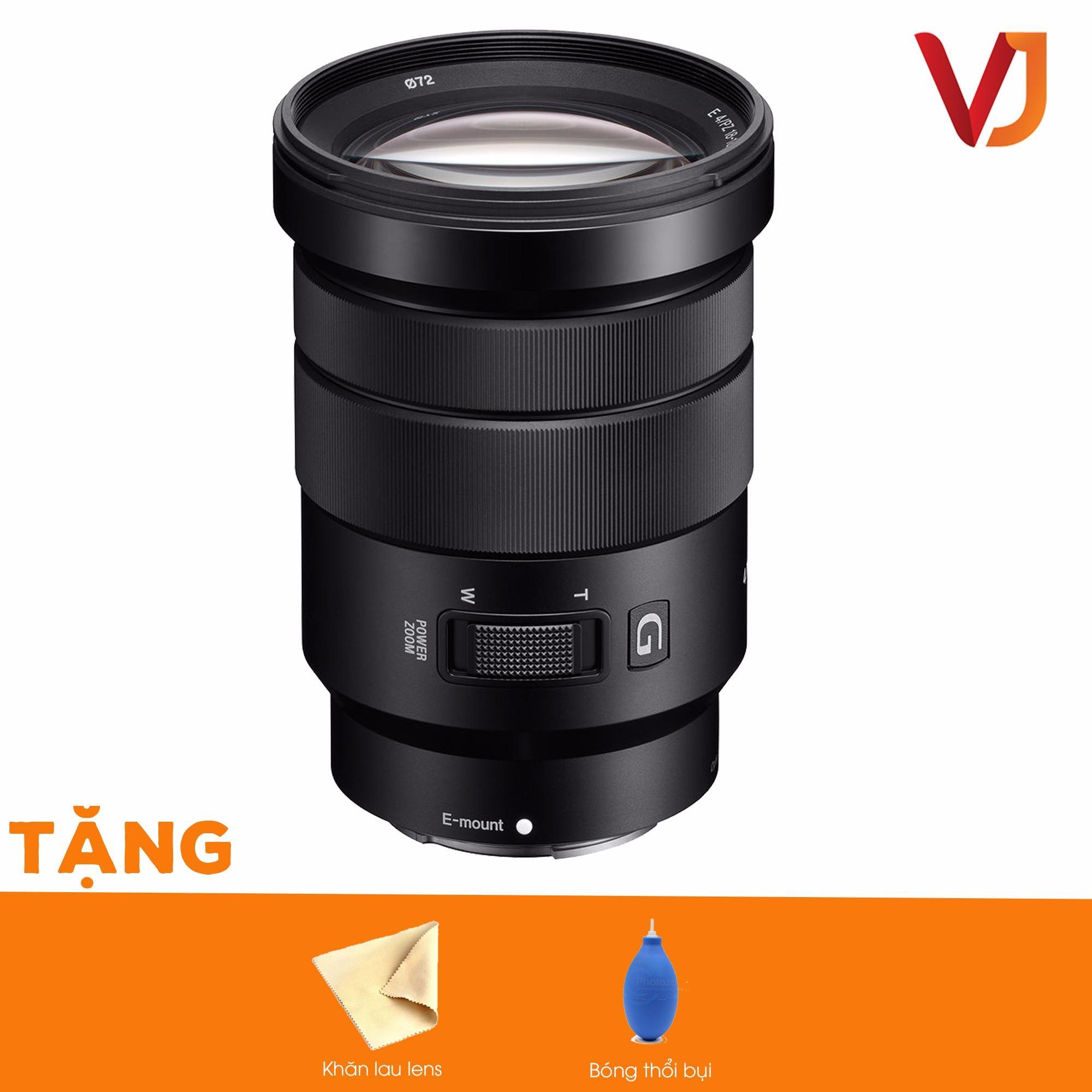 Ống kính Sony E PZ 18-105mm f/4 G OSS Lens + Tặng bóng thổi bụi + khăn lau lens – Hãng phân phối chính thức