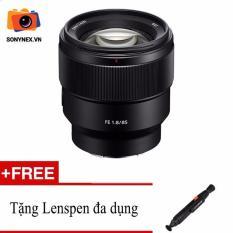 Ống kính Sony Fe 85mm F1.8 (Đen) + Tặng 1 Bút Lenspen – Hàng phân phối chính hãng – Bảo hành 12 tháng