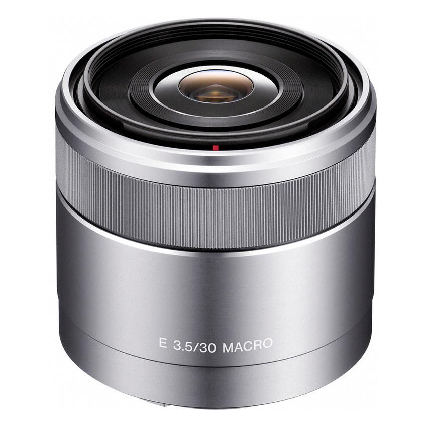 Ống kính Sony SEL30M35 30mm f/3.5 Macro (Bạc)