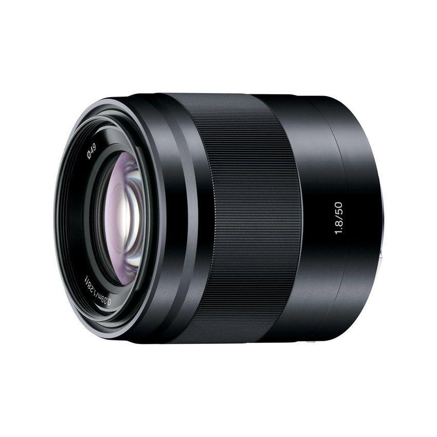 Ống kính Sony SEL50F18 E 50mm F1.8 OSS (Đen)