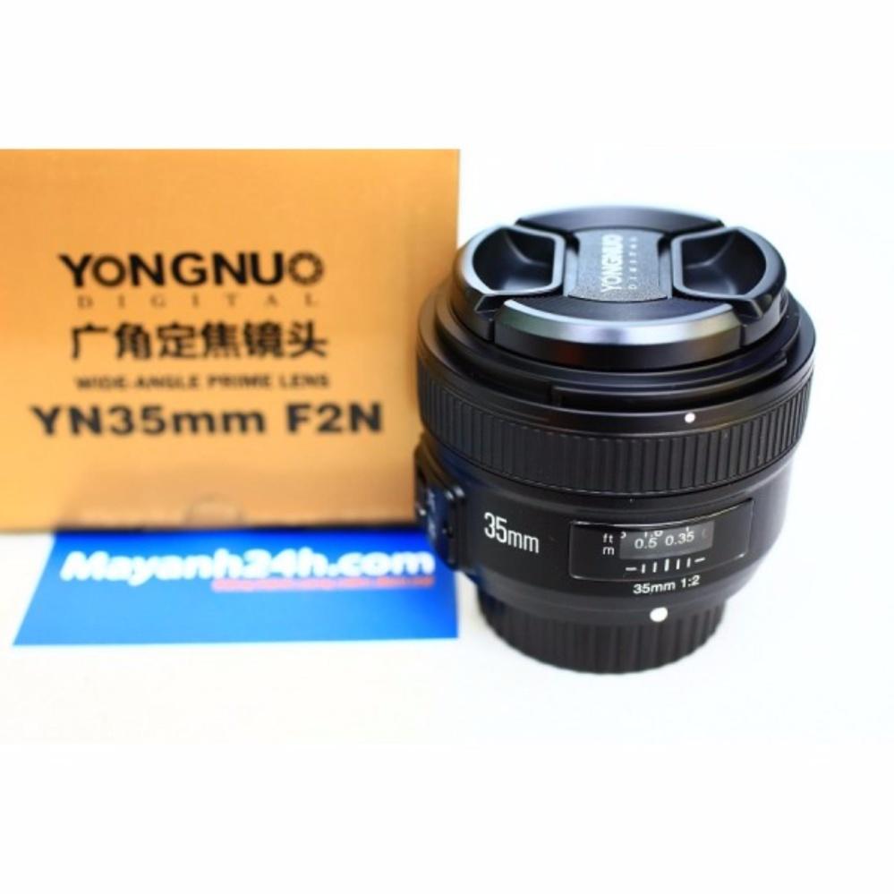 So Sánh Giá Ống kính Yongnuo 35mm F2 For Nikon