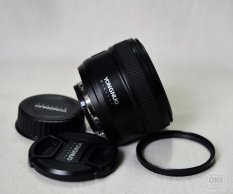 Ống kính Yongnuo 50mm F1.8 cho Nikon tặng kèm filter 58mm