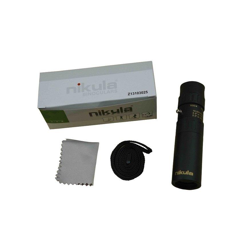 Ống nhòm NIKULA 10-30x 25mm (Đen)