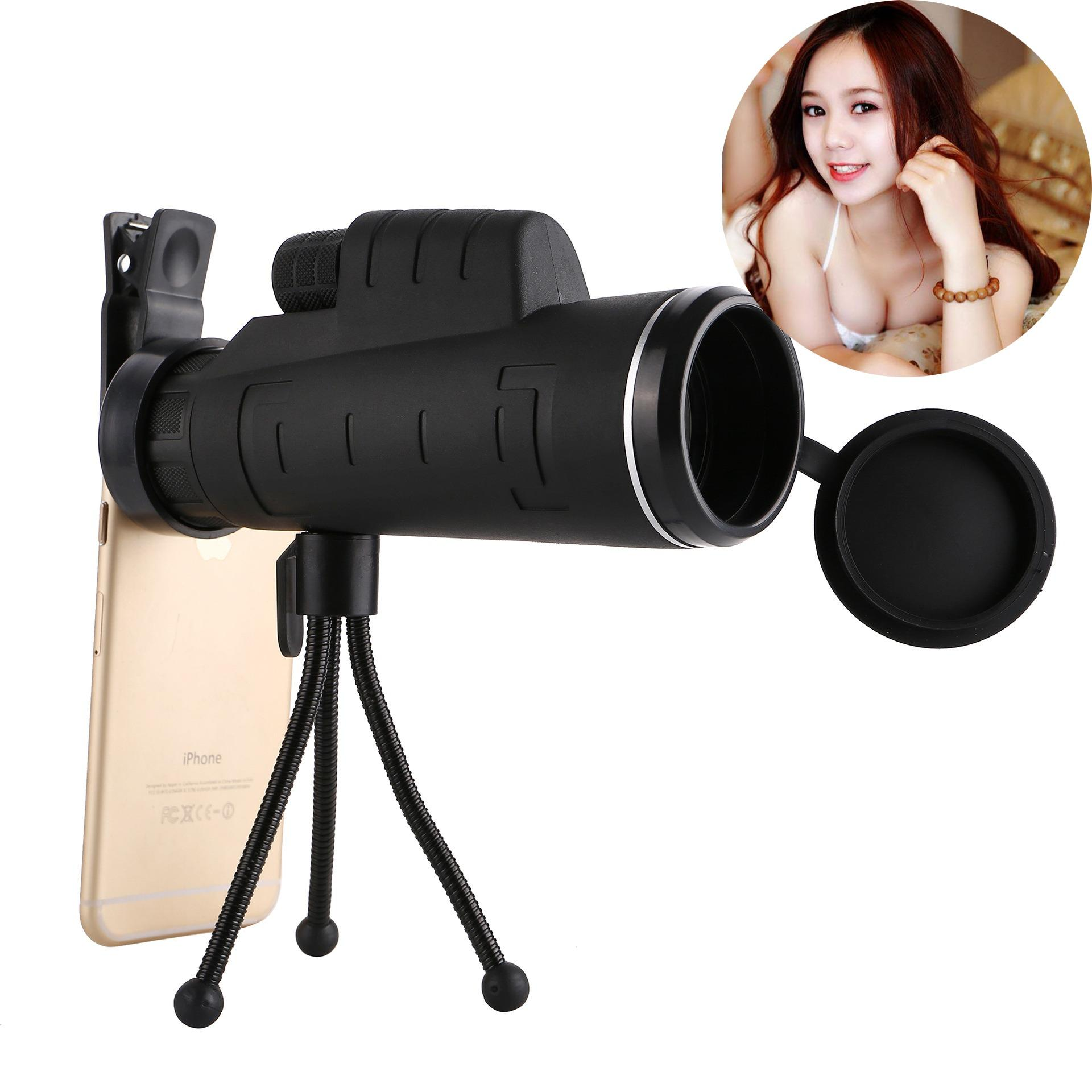 Ống Nhòm Quay Phim Từ Xa, Ống nhòm gắn điện thoại - Hàng chuẩn mắt kính thủy tinh