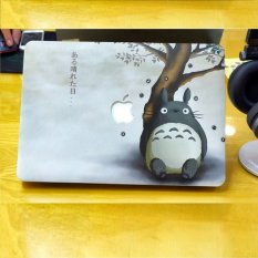 Ốp 2 mặt cho Macbook C014 15Pro Retina (Hoạ tiết Hoạ tiết Totoro)