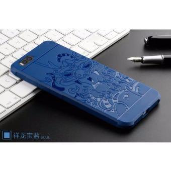 Ốp Chống Sốc Hoa Văn Rồng Cho Xiaomi Mi6