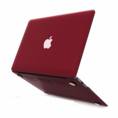 Ốp đỏ Booc đô cho Macbook 11Air