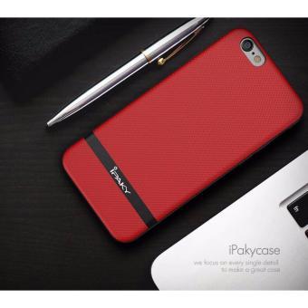 Ốp IPAKY da dành cho iPhone6 Plus/ 6s Plus + Tặng 01 miếng dáncường lực