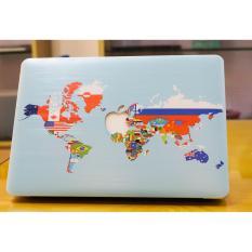 Ốp lưng bảo vệ cho Macbook Air 13.3 thường – hình Cờ Thế Giới