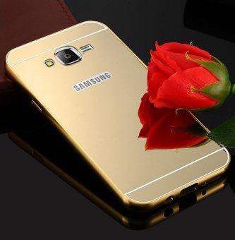 Ốp lưng cho điện thoại Samsung Galaxy J2 2016 gương vàng