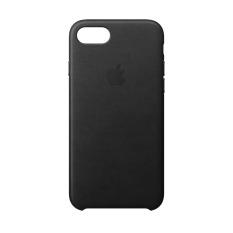 Ốp Lưng Apple iPhone 8 / 7 Leather Case Black