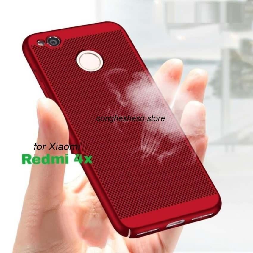 Hình ảnh Ốp lưng dạng lưới tản nhiệt Xiaomi Redmi 4X
