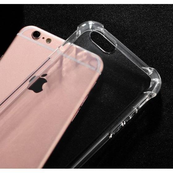 Ốp Lưng Dẻo Chống Sốc Phát Sáng Cho iPhone 6/6S (Trong Suốt)