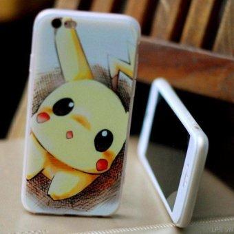 Ốp lưng hình dạng Pikachu dành cho iPhone 6 và 6S- HÀNG NHẬP KHẨU