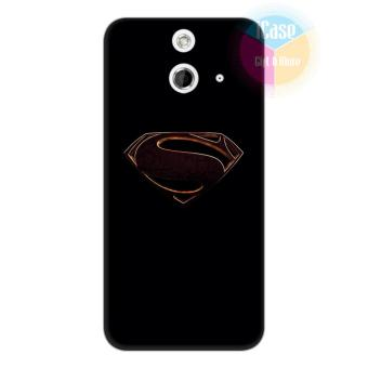 Ốp lưng HTC One E8 - Nhựa dẻo Silicone iCase Color in hình Superman