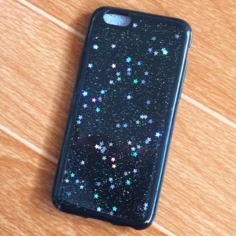Ốp Lưng iPhone 5/5s - Dẻo Đen Bóng Silicon Kim Tuyến Đính Trong Ốp