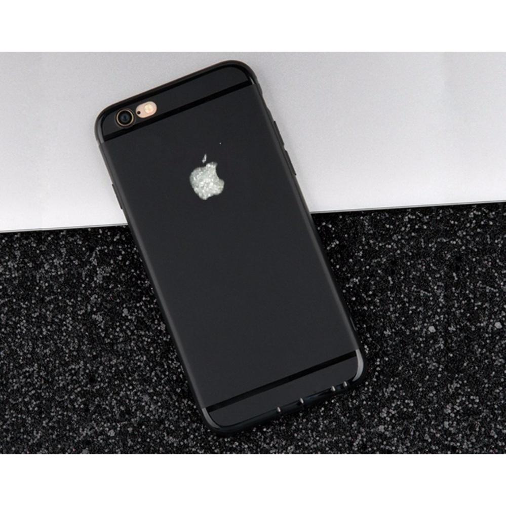 Bảng Giá Ốp lưng iPhone 6 Plus /6s Plus Silicon dẻo đen Tại HuHa