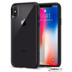 So sánh giá Ốp lưng Iphone X Spigen SGP Ultra Hybrid viền bumper đen Tại Phụ Kiện 24H.