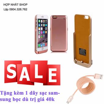 Ốp lưng kiêm pin sạc dự phòng cho iPhone 6 ,6s tặng kèm dây sạc samsung bọc dù - 10291751 , OE680ELAA5HMVCVNAMZ-10079259 , 224_OE680ELAA5HMVCVNAMZ-10079259 , 180000 , Op-lung-kiem-pin-sac-du-phong-cho-iPhone-6-6s-tang-kem-day-sac-samsung-boc-du-224_OE680ELAA5HMVCVNAMZ-10079259 , lazada.vn , Ốp lưng kiêm pin sạc dự phòng cho iPhon