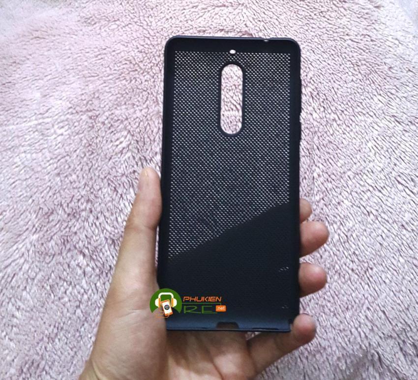 Hình ảnh Ốp lưng lỗ thoát nhiệt Nokia 5 (Đen)