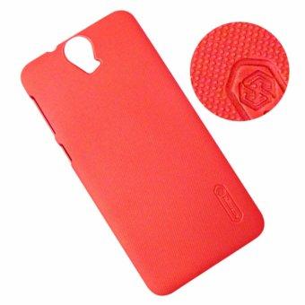 Ốp lưng màu HTC One E9 Plus dạng sần (Đỏ)