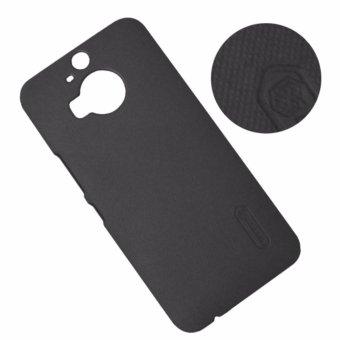 Ốp lưng màu HTC One M9 Plus dạng sần (Đen)