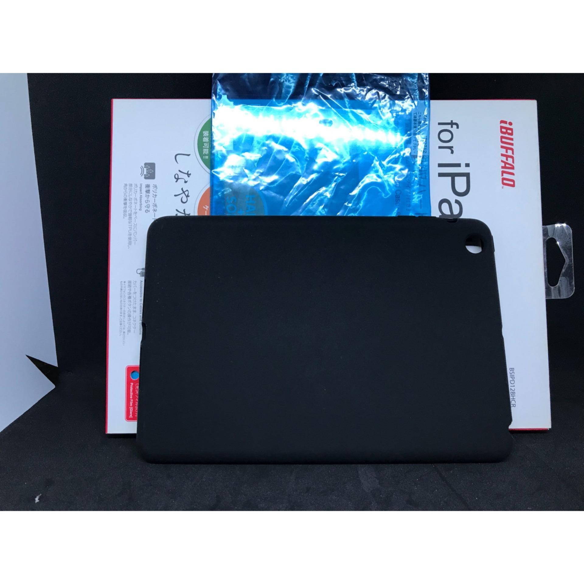 Ốp lưng nhựa dẻo cao cấp iBuffalo dành cho Ipad Mini 1,2,3 đen bóng