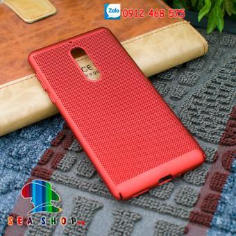 Ốp lưng Nokia 5 dạng lưới tản nhiệt (đỏ)
