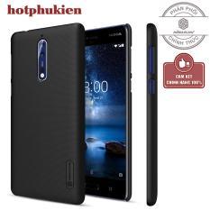 ốp lưng sân cao cấp Nillkin cho Nokia 8 chống trầy chống va đập tuyệt đối (Tặng kèm miếng dán màn hình từ tính) – Phân phối hotphukien