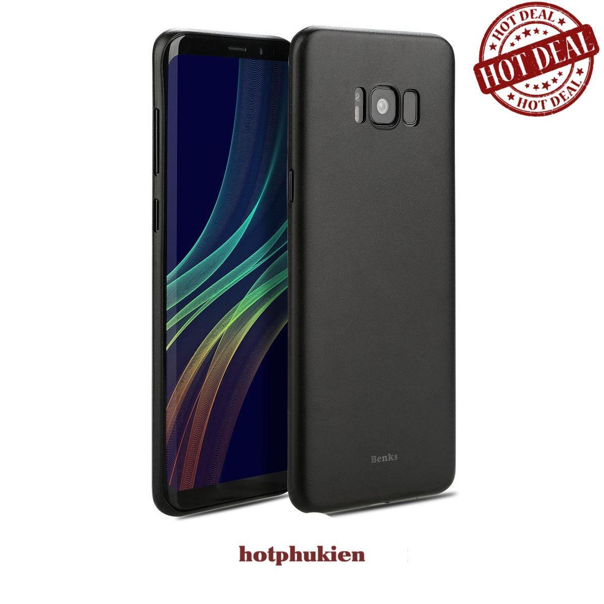 Ốp lưng siêu mỏng 0.4 mm cao cấp cho Samsung Galaxy S8 hiệu Benks Lollipop – phân phối bởi hotphukien.com