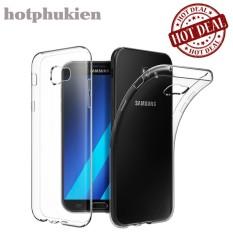 Ốp lưng silicon cao cấp cho Samsung Galaxy A7 2017 Ultra Thin chống trầy tuyệt đối hạn chế ố vàng – phân phối hotphukien