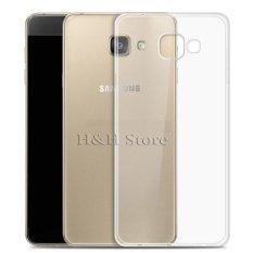 Ốp lưng silicon cho Galaxy A7 2017 ( trong suốt)-Hàng nhập khẩu chính hãng