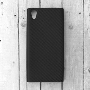 Ốp lưng Sony Xperia L1 nhựa cứng vân Carbon (Đen)