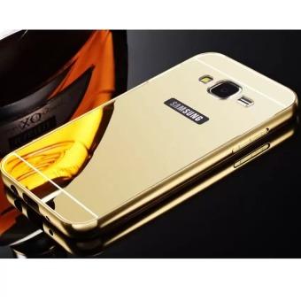 Ốp lưng tráng gương viền kim loại cho điện thoại Samsung Galaxy J32016
