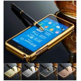 Ốp Lưng Tráng Gương Viền Kim Loại dành cho Sony Z3