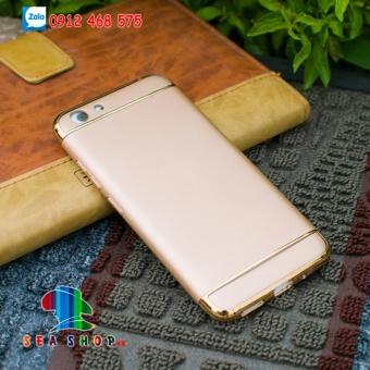 Ốp lưng Vivo Y53 nhựa bóng đầu (vàng)