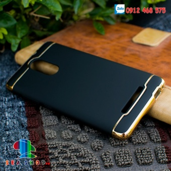 Ốp lưng Xiaomi Redmi Note 3 nhựa bóng đầu (đen)